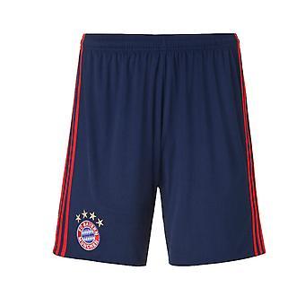 2016-2017 Bayern Monaco Adidas portiere di casa Shorts (notte Indigo) - bambini