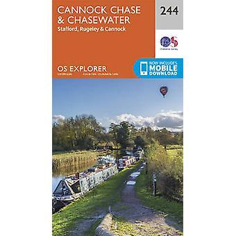 Cannock Chase (September 2015 ed) by Ordnance Survey - 9780319244371