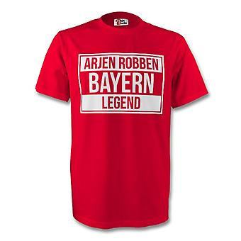 Арьен Роббен Бавария Мюнхен легенда тройник (красный) - дети