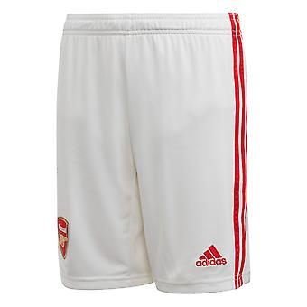 adidas Arsenal 2019/20 Kids Home Football Short White