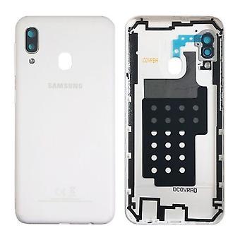 Samsung GH82-20125B Batterie Cover pour Galaxy A20E A202F - Glue Pad White Nouveau
