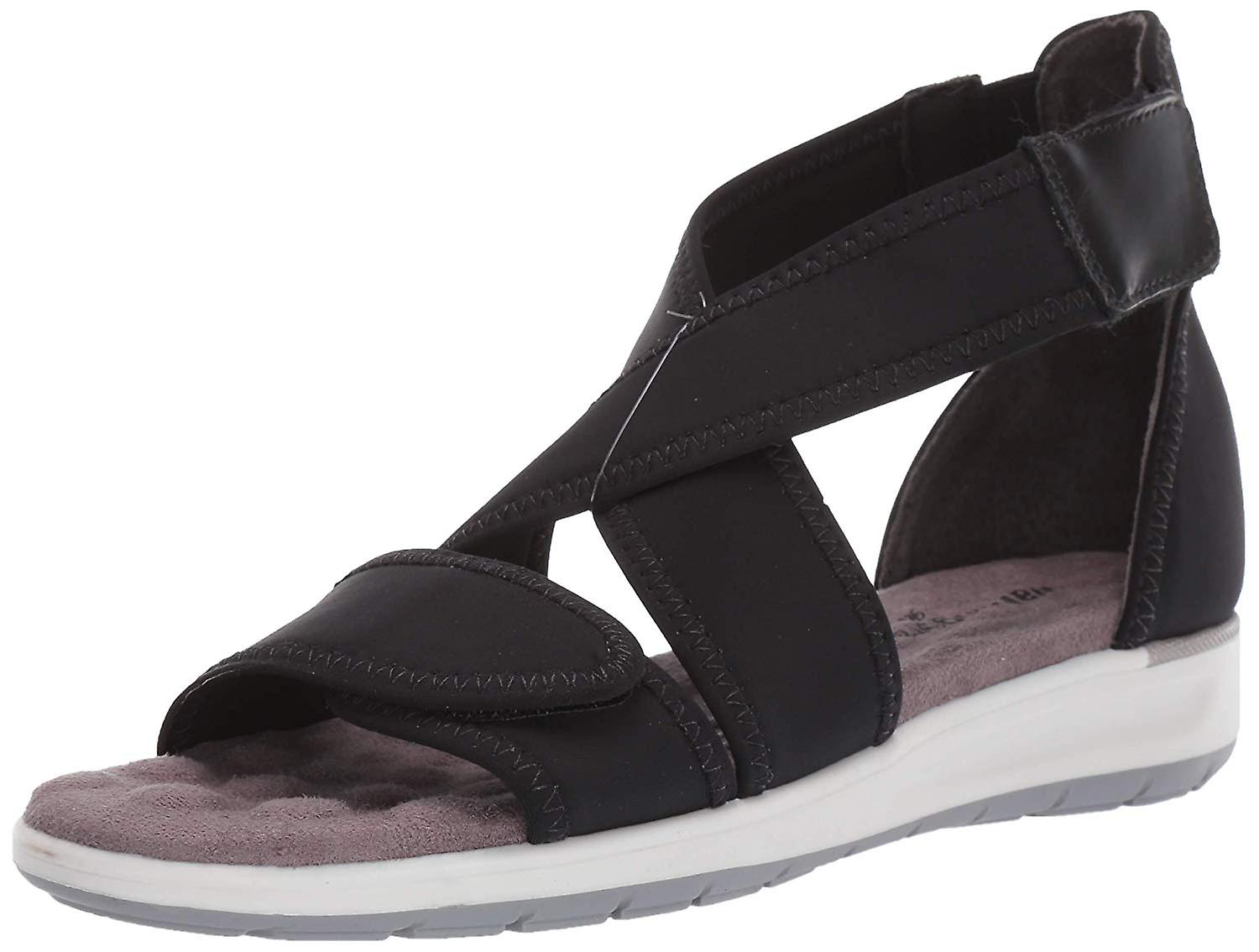 Ros Hommerson Womens Walking Cradles stardust Fabric Open Toe Walking Strappy...