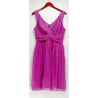 Donna Morgan kjole pyntet ermeløs kjole lilla