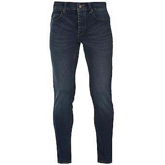 Fransk forbindelse herre slim jeans bukser bukser trusser pasform