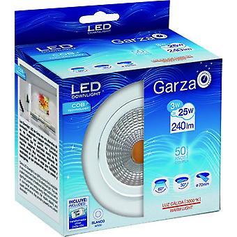 Garza Led Recessed Cob 3W 60 240Lm 30K (Lighting , Interior Lighting , Recessed Lights)