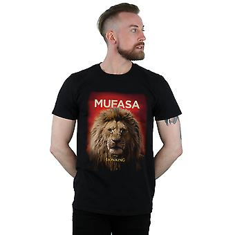 Disney Men's The Lion King Movie Mufasa Poster T-Shirt