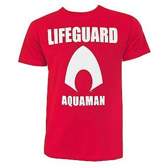 Aquaman Movie Lifeguard Mężczyźni's T-Shirt