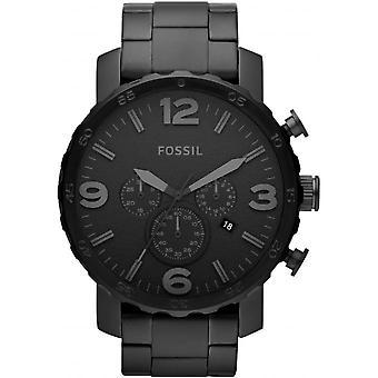 Horloge fossiele NATE JR1401 - Chrono Sport zwarte man