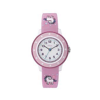 s. Oliver Watch silikonebånd Watch Kids Girl så-3912-PQ