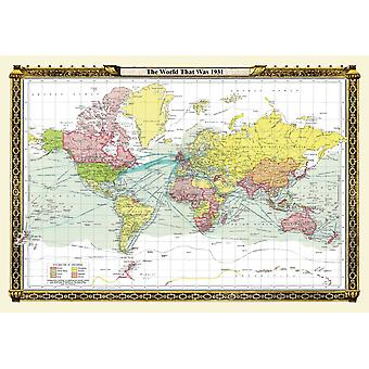 The World That Was 1931 1000 Piece Jigsaw Puzzle (jg)