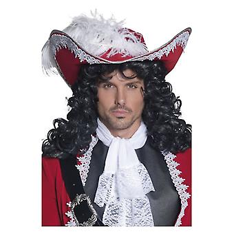 Mens authentiek Pirate Hat Fancy Dress accessoire