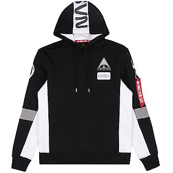 Alpha Industries Men's Hooded Sweater Space Camp