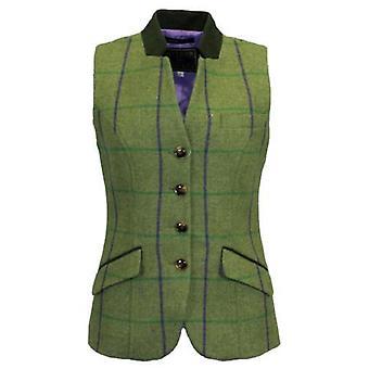 Ladies Margate Tweed Waistcoat