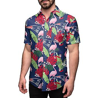 New England Patriots HAWAII FLORAL Shirt Short Sleeve Shirt