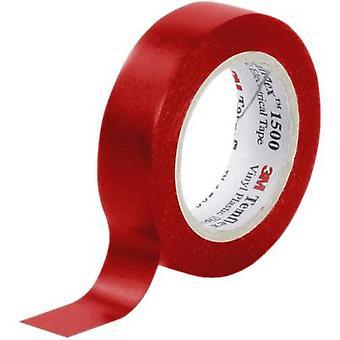 3M FE-5100-8341-6 Electrical tape Temflex 1500 Red (L x W) 10 m x 15 mm 1 Rolls