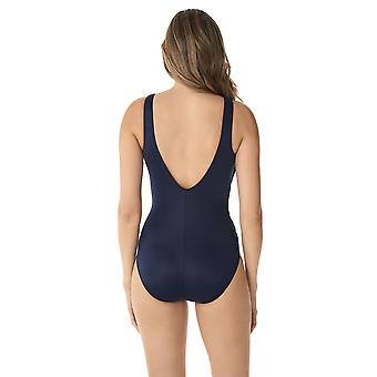Miraclesuit 6516689-MDN vrouwen ' s illusionisten crossover Midnight Blue shaping badpak
