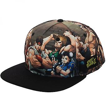 Street Fighter Sublimated Snapback Hat