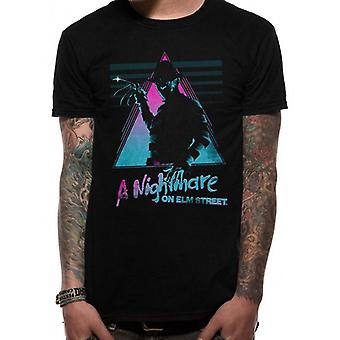 Nightmare On Elm Street-Retro T-Shirt