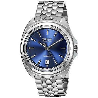Bulova Men's Blaue Zifferblatt Uhr - 63B186
