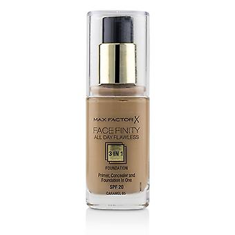 Max Factor Face Finity All Day Flawless 3 In 1 Foundation Spf20 - #85 Caramel - 30ml/1oz