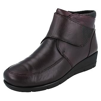 Ladies Padders Wide Ankle Boots Acorn
