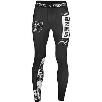 Tatami Fightwear Kanagawa Grappling Spats - Black
