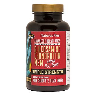 Nature's Plus Triple Strength Ultra Rx-Joint Glucosamine/Chondroitin/MSM Celadrin 120 (4930)