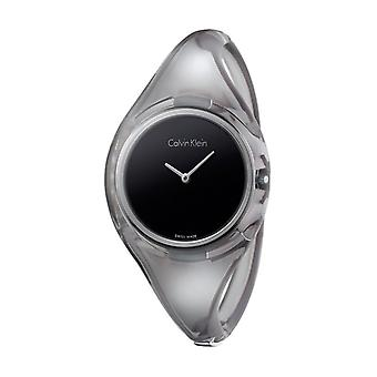 Calvin klein women's watch, black p1
