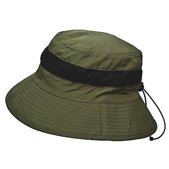 Unisex Adult Packable Wide Brim Mesh Band - Crown Fishing Rambler Summer Sun Hat