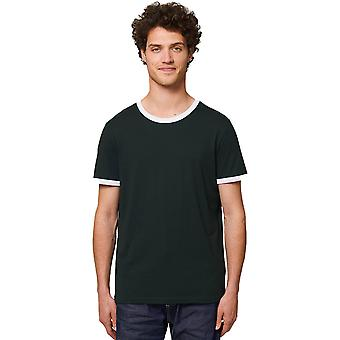 greenT Mens & Womens Organic Ringer Soft Touch T-Shirt