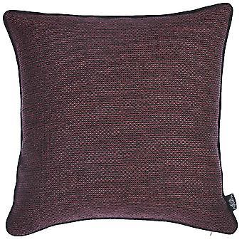 "17""x 17"" Jacquard Minimal Decorative Throw Pillow Cover"