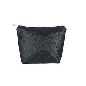 Jewelcity Womens/Ladies Embroidered Slogan Makeup Bag