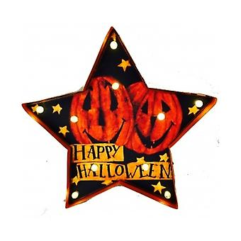 Happy Halloween Led Star Sign