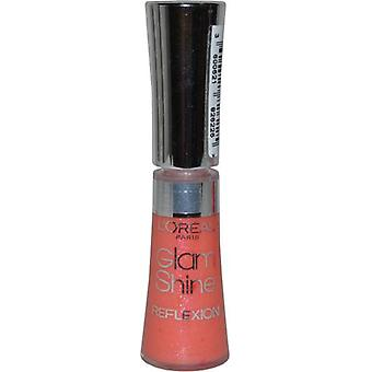 L ' Oreal Glam Shine Lip Gloss Reflexion 6ml Sheer Peach (#174)