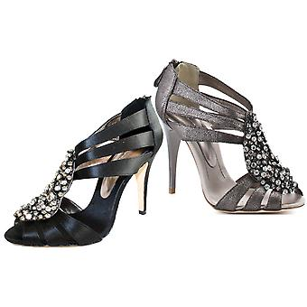 Bourne Women's Crystal Encrusted Leigh Sandals