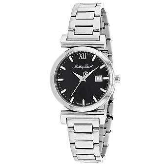 Mathey Tissot Women's Black Dial Watch - D410AN