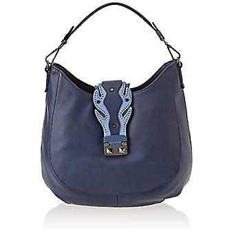 Trussardi Jeans 75B00396-9Y099999 Blue Tote Women's Bag 35x32x9cm (W x H x L)