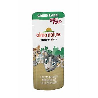 Almo nature Green Label Mini Food Filete De Pollo (Koty , Pokarm dla kota , Mokra karma)