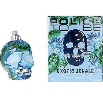 Politi til at være eksotisk jungle mand EDT spray 125 ml til mænd