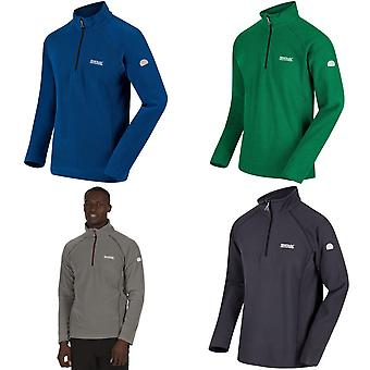 Regata Outdoor Mens Kenger Mezza Zip a nido d'ape in pile