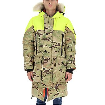Griffin Jw1903 Uomo's Camouflage Polyester Outerwear Giacca