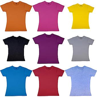 Nakedshirt Womens/Ladies Nancy Short Sleeve Cotton T-Shirt