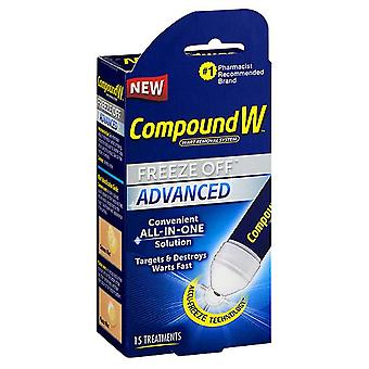Compound w wart removal system freeze off treatment, 15 ea