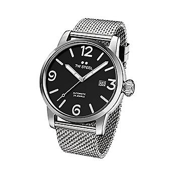 TW Steel Automatic Unisex analogue watch with stainless steel band MB15