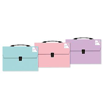 Pastel A4 Expanding File Organiser 13 Pocket Storage Folders