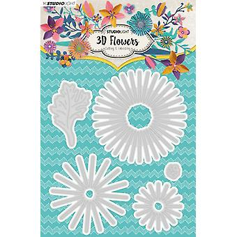 Studio Light Embossing Die Cut 3D Flower Dies nr. 178 STENCILSL178