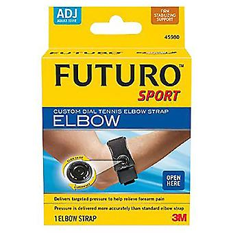 Futuro sport custom dial tennis elbow strap, adjust to fit, firm, 1 ea