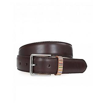 Paul Smith Accessories Leather Keeper Belt