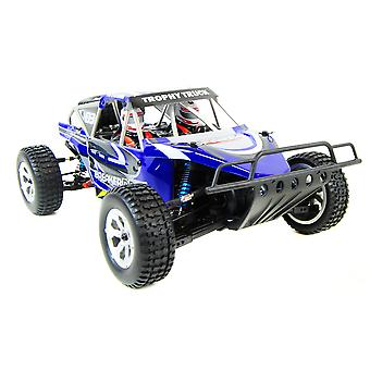 Breaker Brushless Electric RC Trophy Truck PRO Version 2.4Ghz - Blue / White