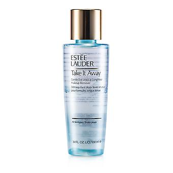 Take it away gentle eye and lip long wear makeup remover (all skintypes) 164940 100ml/3.4oz
